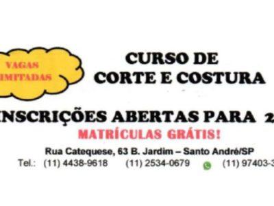MATRÍCULAS ABERTAS PARA 2020!
